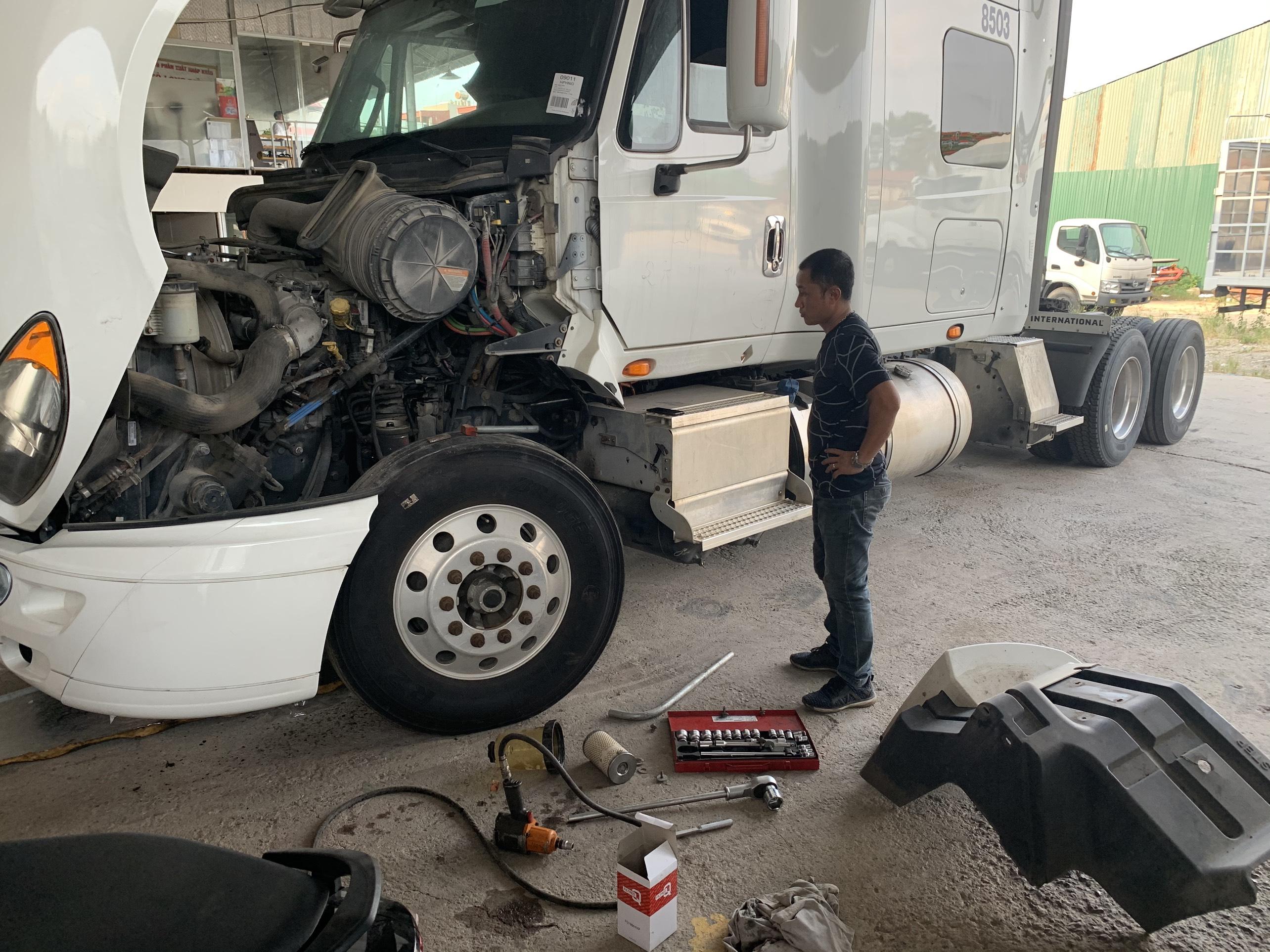 Dịch vụ sửa chữa bảo dưỡng xe ô tô tải uy tín, chất lượng, giá rẻ tại Hà Nội