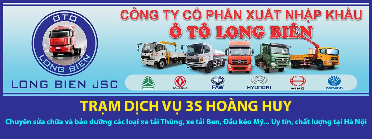 Trung tâm 3s Hoàng Huy Hà Nội chuyên sửa chữa bảo dưỡng xe tải chuyên nghiệp