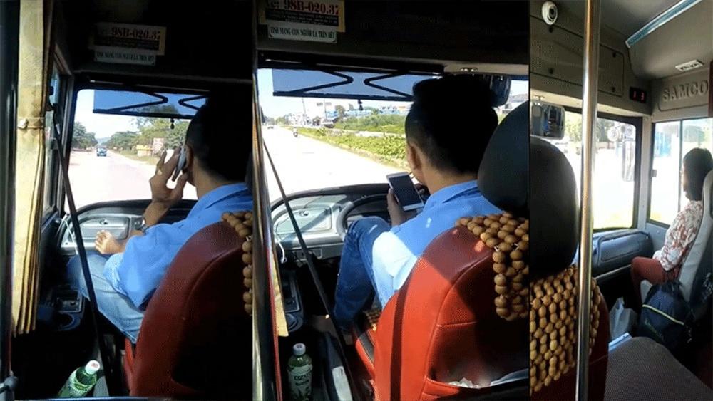 Luật hóa hành vi vừa lái xe vừa nghe điện thoại để xử lý