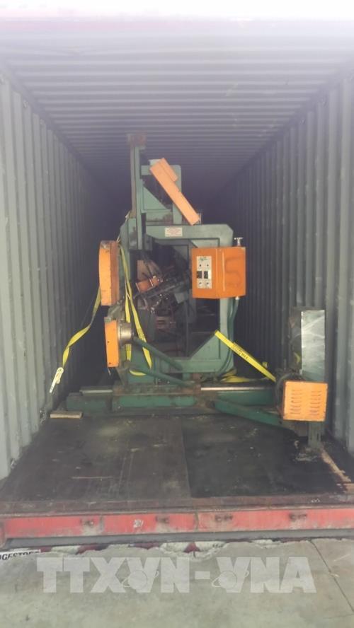 Bình Dương thanh tra lô hàng nhập khẩu máy móc, thiết bị sản xuất chế biến gỗ