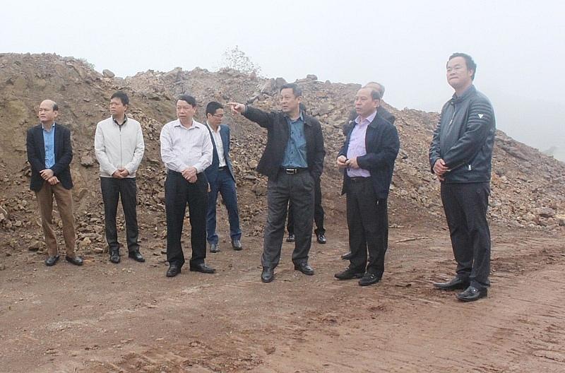 Hòa Bình: Đẩy nhanh tiến độ triển khai dự án khu công nghiệp Mông Hóa và Yên Quang