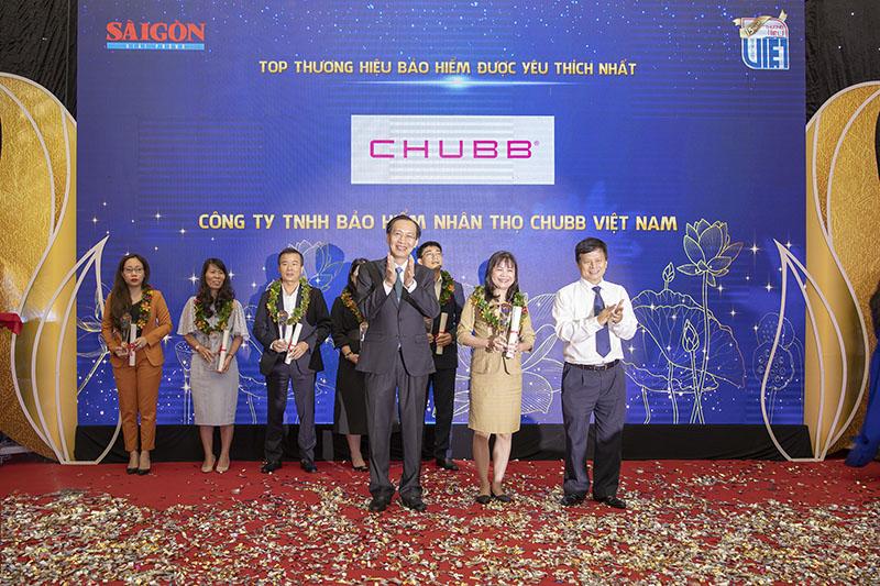 """Chubb Life Việt Nam được vinh danh """"Thương hiệu bảo hiểm được yêu thích nhất"""" năm 2020"""