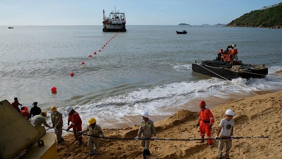 Cáp quang biển SJC2 - Thêm dung lượng lớn kết nối từ Việt Nam đi quốc tế