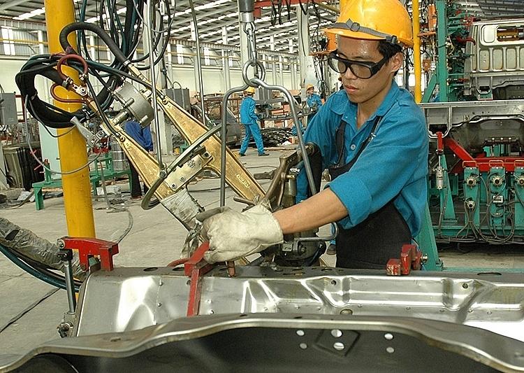 Chỉ số sản xuất công nghiệp tăng trở lại