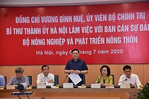Hà Nội kiến nghị tháo gỡ quy hoạch 2 bên sông Hồng