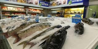 Doanh số bán thủy sản ở Trung Quốc bị ảnh hưởng nặng nề