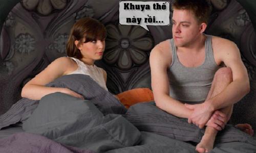 Chồng bất lực trước yêu cầu của vợ lúc nửa đêm
