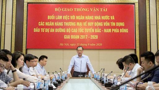 Lợi lớn khi cấp tín dụng 5 dự án PPP cao tốc Bắc - Nam