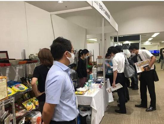 Gian hàng Việt Nam tham gia Hội chợ Osaka International Gift Show lần thứ 62 ngày 17-18/9/2020