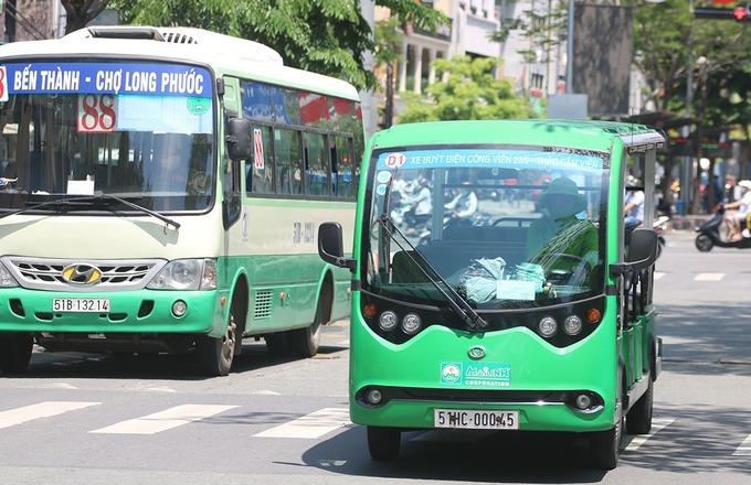 Đề xuất mở 5 tuyến buýt điện