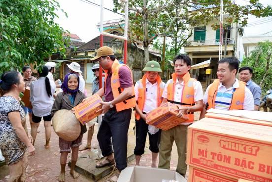 Chủ động ứng phó, khắc phục thiệt hại do mưa, lũ, tại khu vực miền Trung