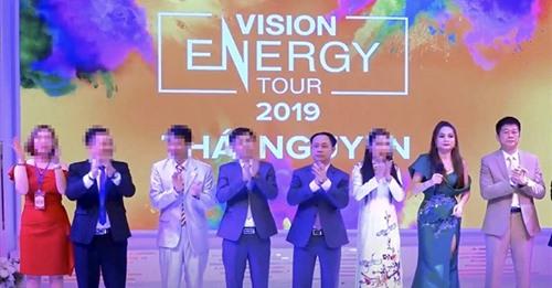 Thông tin liên quan đến Công ty TNHH Thương mại Vision Việt Nam có dấu hiệu kinh doanh đa cấp trái phép