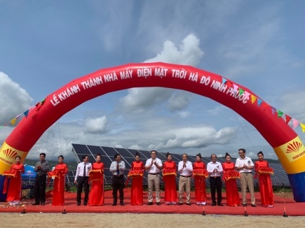 Tập đoàn Hà Đô: Khánh thành nhà máy điện mặt trời HaDo Ninh Phước