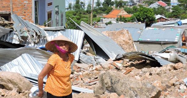 Khánh Hòa có hơn 23.000 dân đang nằm trong hàng trăm vùng nguy cơ sạt lở