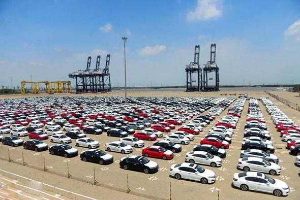 Xuất khẩu ô tô Thái Lan tiếp tục giảm