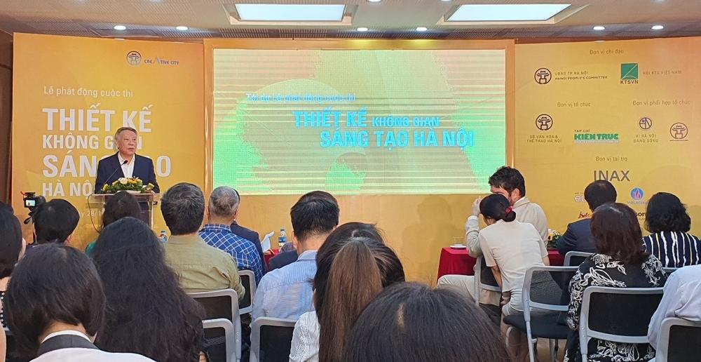 Phát động cuộc thi thiết kế không gian sáng tạo Hà Nội