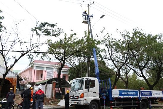 Thông tin nhanh về tình hình ảnh hưởng Bão số 9 (Molave) đến vận hành nguồn và lưới điện khu vực miền Trung