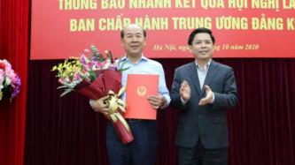 Thứ trưởng Bộ GTVT Nguyễn Văn Công nghỉ hưu theo chế độ từ 1/11