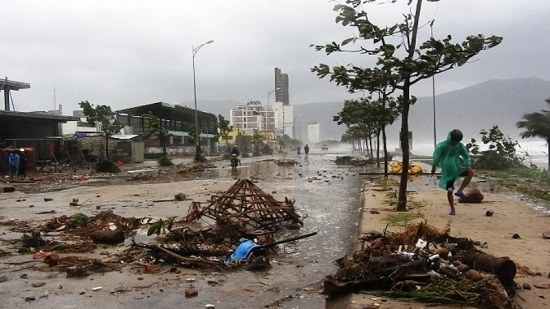 Tình hình chỉ đạo điều hành ứng phó, khắc phục hiệt hại do bão số 9 gây ra