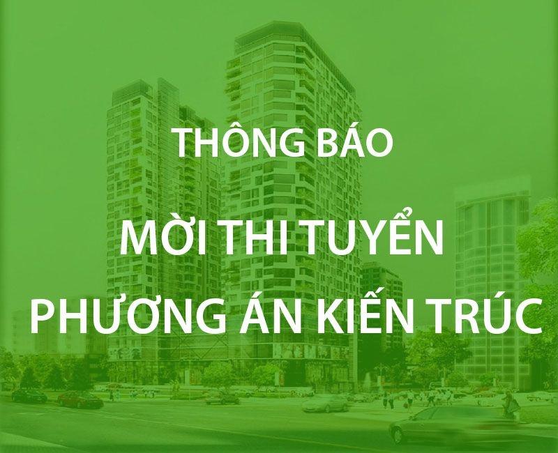 Thông báo thi tuyển phương án thiết kế kiến trúc dự án Trung tâm y tế thành phố Biên Hòa