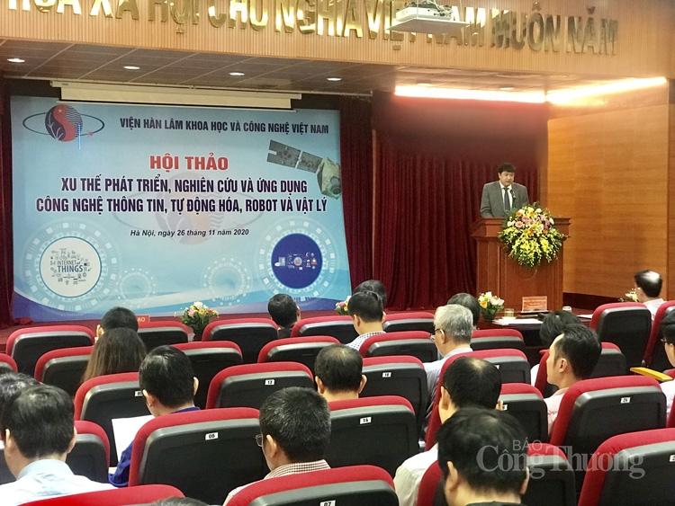 Viện Hàn lâm Khoa học và Công nghệ Việt Nam: Thúc đẩy nghiên cứu chế tạo, ứng dụng công nghệ mới