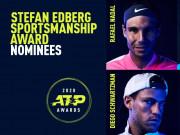 Nóng nhất thể thao sáng 4/12: Nadal được đề cử giải thưởng danh giá của ATP