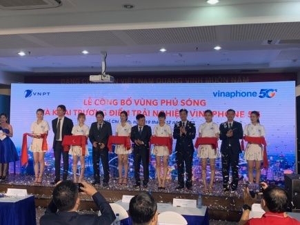 VNPT chính thức phủ sóng VinaPhone 5G tại Hà Nội và TP. Hồ Chí Minh
