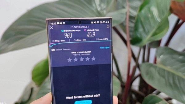 Điện thoại Samsung đã có thể kết nối 5G tại Việt Nam