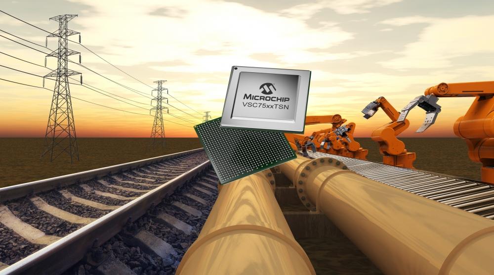 Microchip giới thiệu dòng sản phẩm thiết bị chuyển mạch SparX-5i