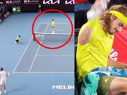 """Xôn xao Australian Open: Medvedev """"ăn gian"""", Tisitsipas đập chai nước"""