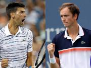 Trực tiếp tennis Djokovic - Medvedev: Đâu là vũ khí lợi hại của Medvedev?