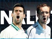 """Djokovic """"độc cô cầu bại"""" có rửa hận được Medvedev ở chung kết Australian Open?"""