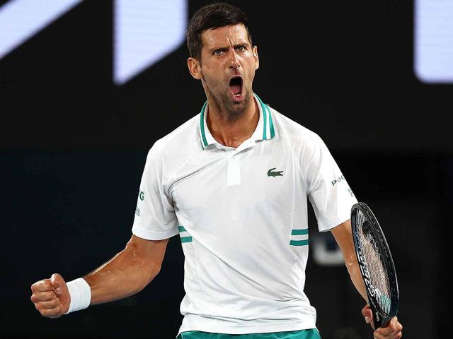 Video tennis Djokovic - Medvedev: Vùi dập chóng vánh, lên ngôi trong 114 phút