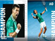 """""""Nhà vua"""" Djokovic thống trị Australian Open: Báo chí khen """"bất khả chiến bại"""""""