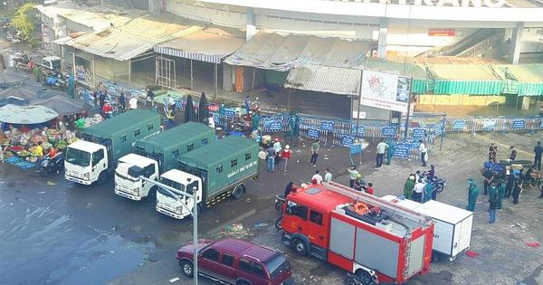 Thời gian đóng cửa chợ Đầm cũ Nha Trang lùi đến ngày 18-4