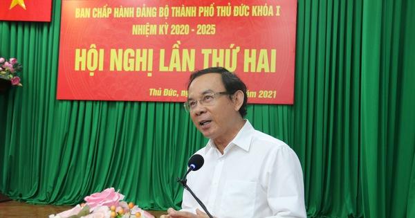 Bí thư Nguyễn Văn Nên yêu cầu sớm thống kê nhà đất công ở TP Thủ Đức để có kế hoạch sử dụng