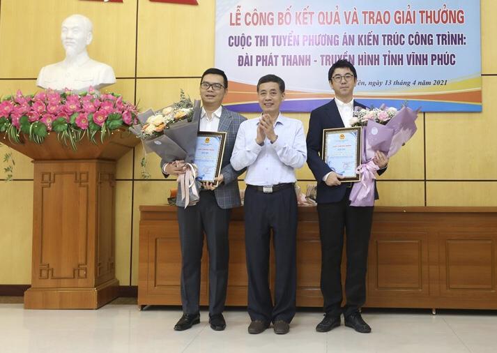 Vĩnh Phúc: Công bố và trao giải Cuộc thi tuyển phương án kiến trúc công trình Đài phát thanh và Truyền hình tỉnh