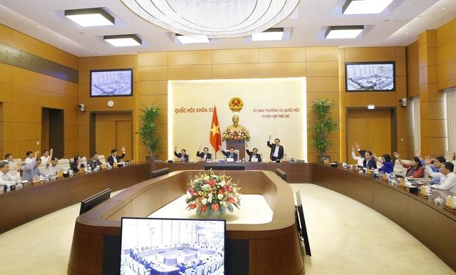 Thông qua Nghị quyết điều chỉnh địa giới hành chính các tỉnh Thanh Hóa, Đồng Nai, Tuyên Quang và Thành phố Hà Nội