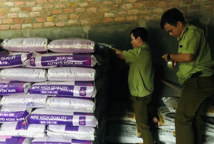 Phát hiện, thu giữ 4,5 tấn xương chân gà tại Quảng Ninh