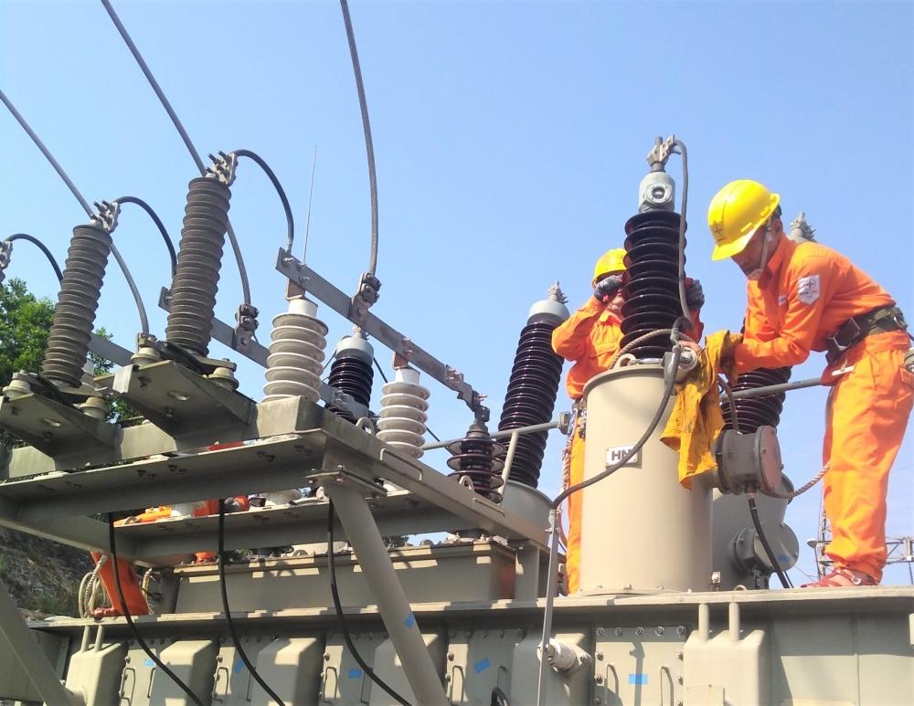 Sẽ cắt điện 3 đợt để thi công dự án đường dây 110kV Đông Hà - Lao Bảo