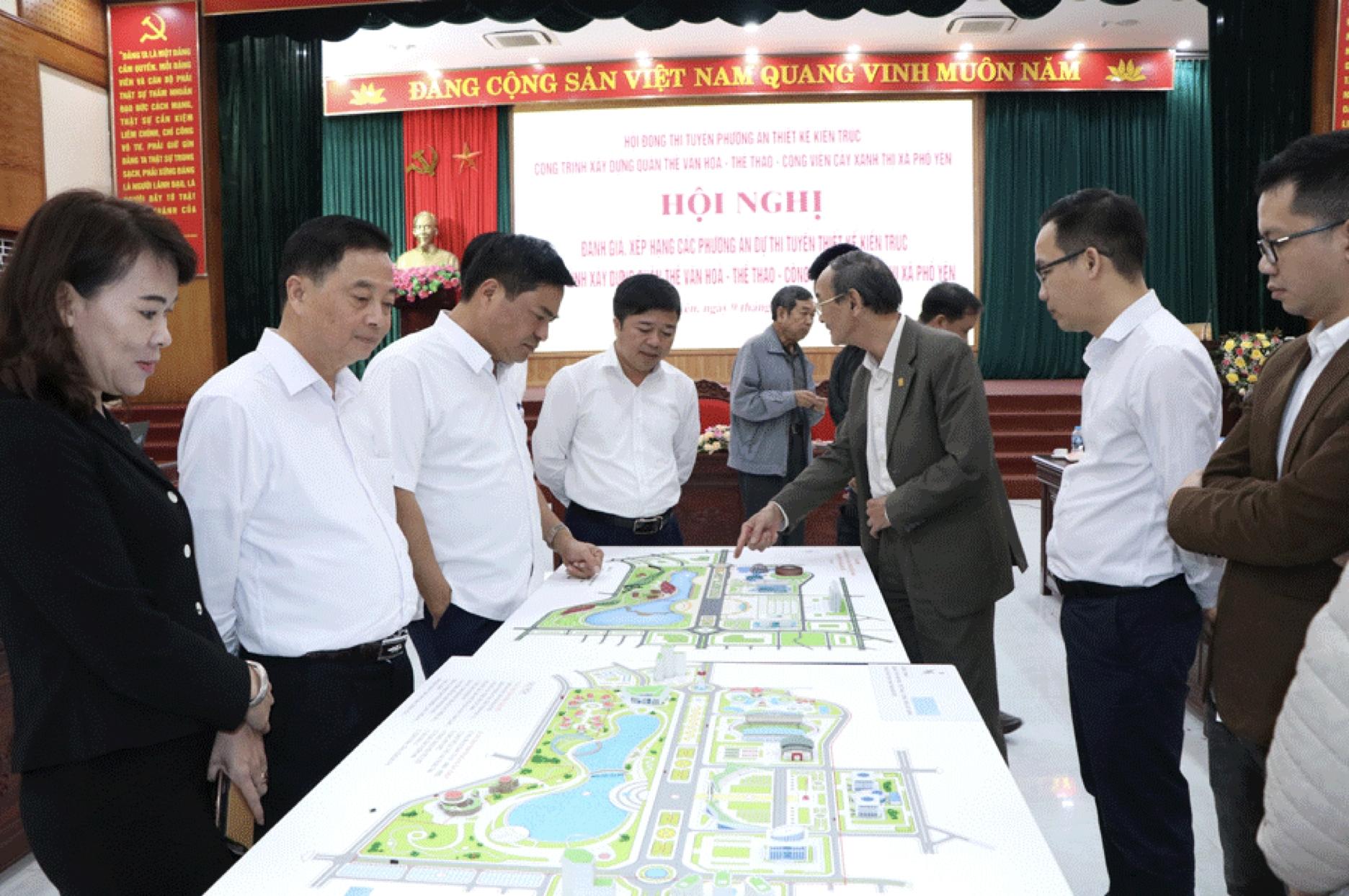 Thái Nguyên: TAC giành giải Nhất thi tuyển thiết kế kiến trúc công trình xây dựng quần thể văn hóa - thể thao - công viên cây xanh thị xã Phổ Yên