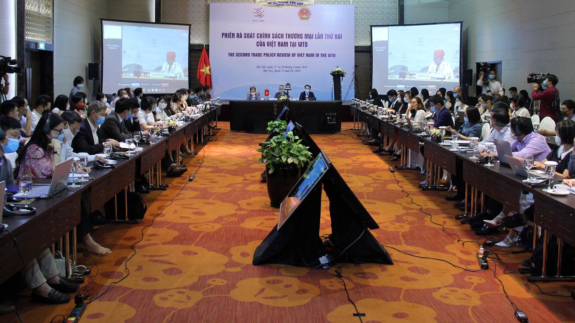 Việt Nam tổ chức thành công Phiên rà soát Chính sách thương mại lần thứ hai tại WTO