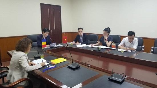 Họp nhóm công tác chung về kinh tế, thương mại Việt Nam – Rumani