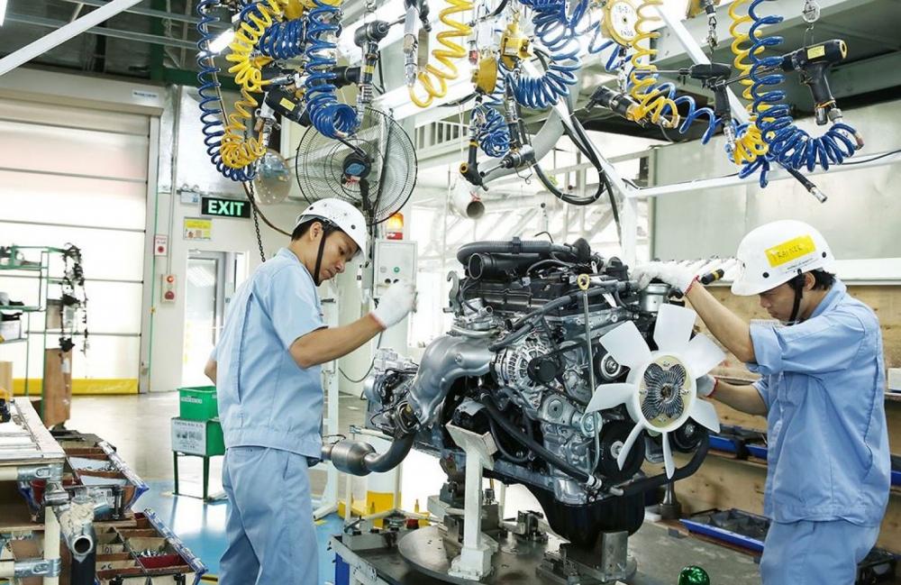 Tháng 4, sản xuất công nghiệp của cả nước tăng hơn 24%
