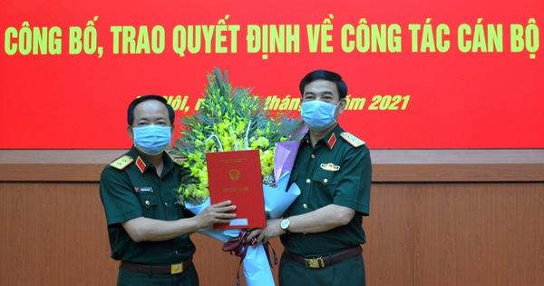 Trung tướng Trịnh Văn Quyết làm phó chủ nhiệm Tổng cục Chính trị