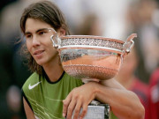 Nadal muốn vào chung kết tất cả các giải đấu trên sân đất nện
