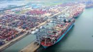 Hàng hóa qua cảng biển Vũng Tàu tăng hai con số dù ảnh hưởng Covid-19