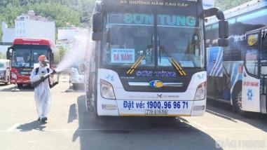 Nhà xe lớn nhất tuyến Quy Nhơn-Đà Nẵng chủ động tạm dừng hoạt động vận tải