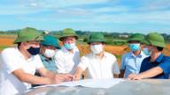 """Chủ tịch tỉnh Ninh Bình """"thúc"""" tiến độ GPMB cao tốc Mai Sơn - QL45"""