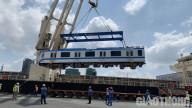 TP.HCM: Thêm 2 đoàn tàutuyến metro số 1 chuẩn bị cập cảng Khánh Hội